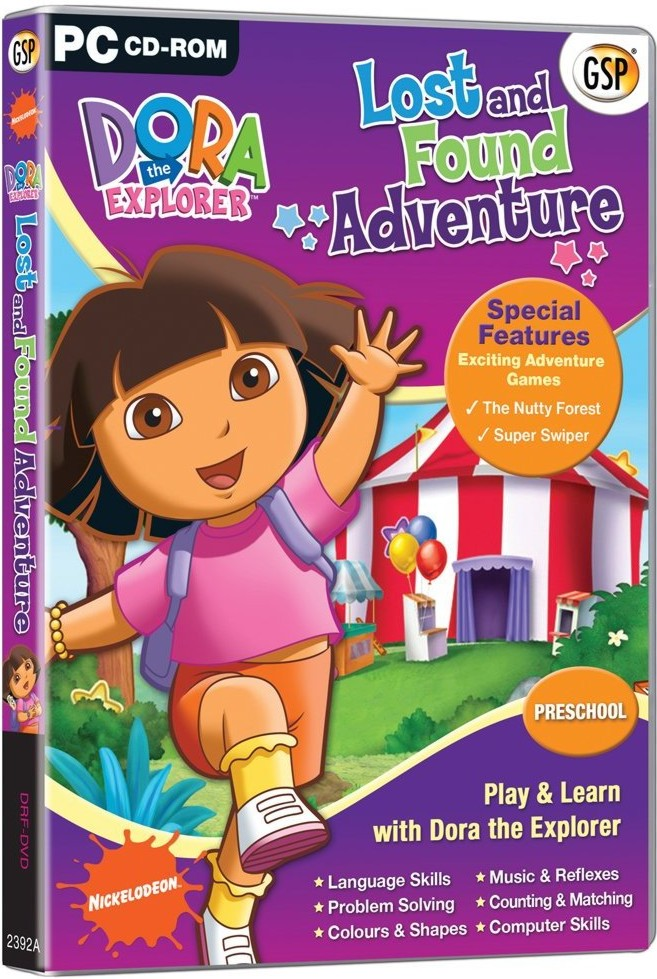 HixxySoft.com - Dora The Explorer Lost and Found Adventure PC Game